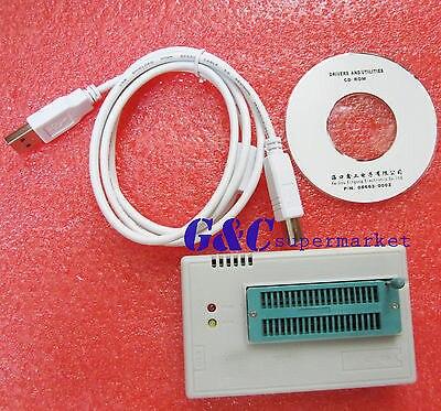 High Speed TL866CS Programmer USB EPROM EEPROM FLASH BIOS AVR AL PIC tl866cs universal programmer