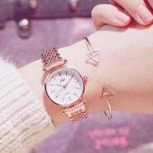 Women Bracelet Watches Luxury Rose Gold Watch Women Quartz Ladies Silver Wrist Watches Steel Female Clock relogio feminino 2018 недорого