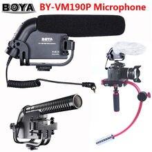Free shipping!!! BOYA BY-VM190P Stereo Video DSLR Camera DV Audio Recorder Shotgun Microphone VM-190P VM190P