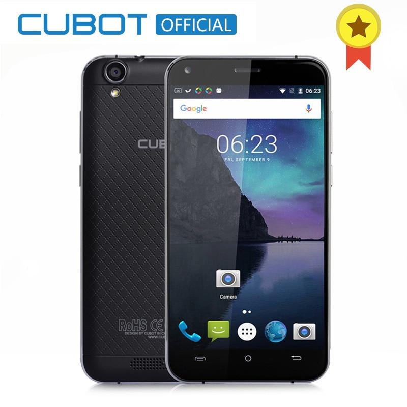 Mtk6737 manito cubot 5.0 pulgadas hd de pantalla smartphone android 6.0 quad cor