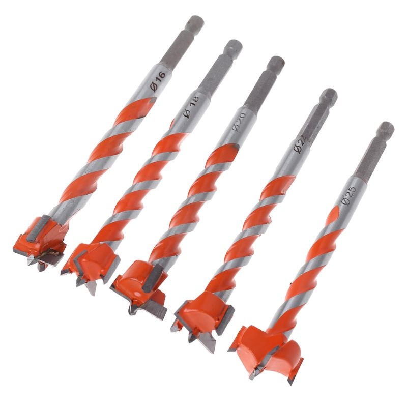 Woodworking Hole Saw Cutter Drill Bits Hex Shank Hinge