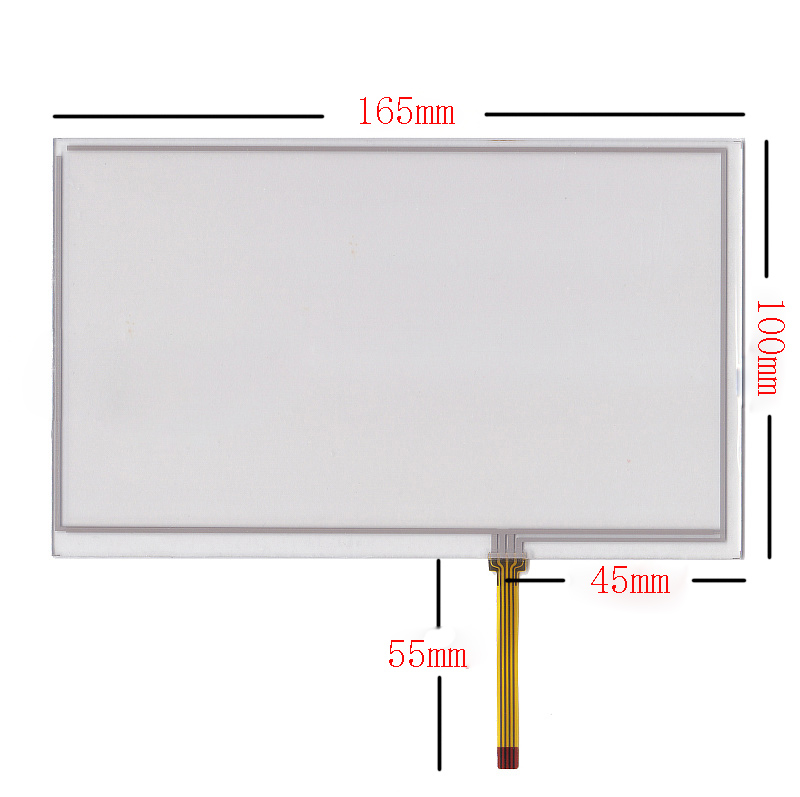 New 7 touch screen digitizer panel For Prology latitude T 703 165 100mm