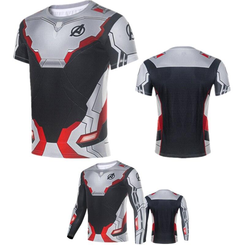 Avengers Endgame Quantum Regno Avanzata Tecnologia T-shirt Supereroe Costume Cosplay Magliette E Camicette Qualità Eccellente