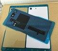 JEDX M5 Заднее Стекло Крышка для Sony Xperia m5 Dual E5603 E5633 Крышка Батарейного Отсека Корпус С NFC Замена