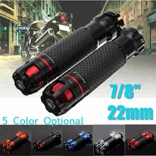 7/8 22mm Motorcycle Throttle CNC Aluminum Alloy Rotatable Handlebar Hand Grips