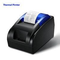 58MM USB Mini Thermal Receipt Printer High Speed Printing 90mm Sec Compatible With ESC POS Print