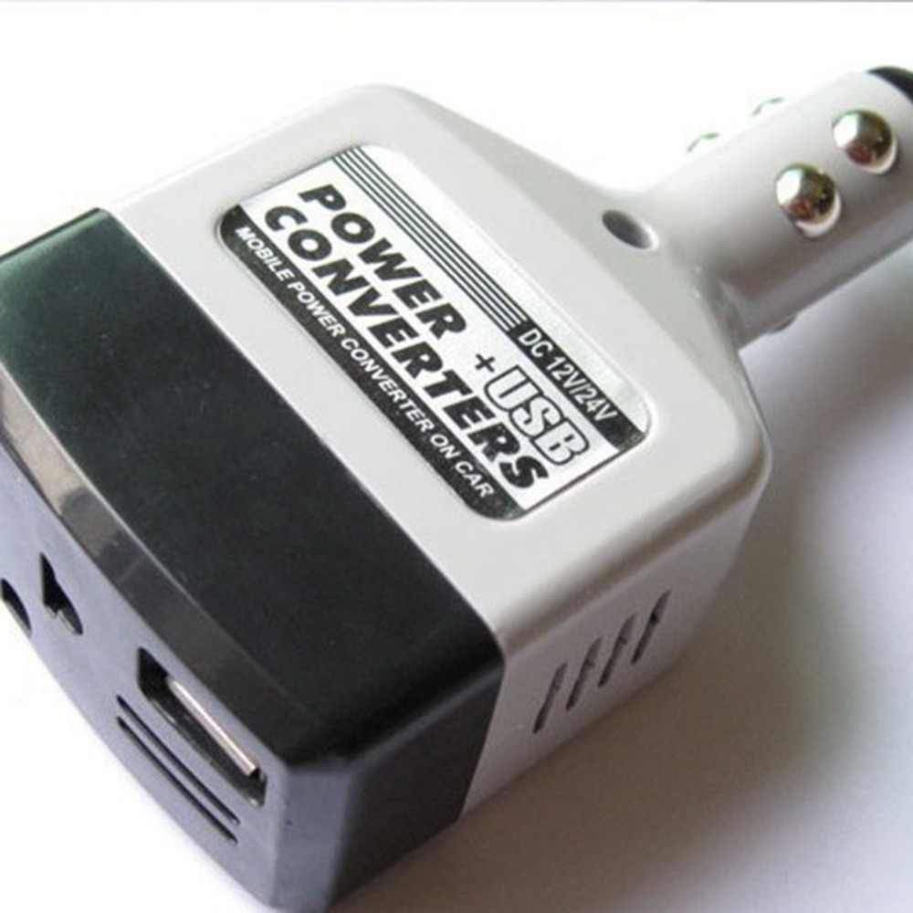 Convertidor de coche transformador de potencia Universal 12 v/24 v a 220 v convertidor de potencia