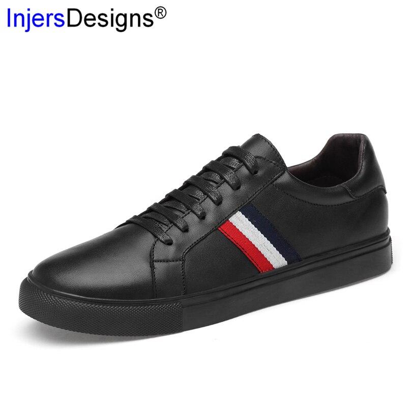 Nouveauté hommes chaussures Air Mesh Sneakers en cuir hommes formateurs à lacets respirant confortable skateboard chaussures grande taille 37-47