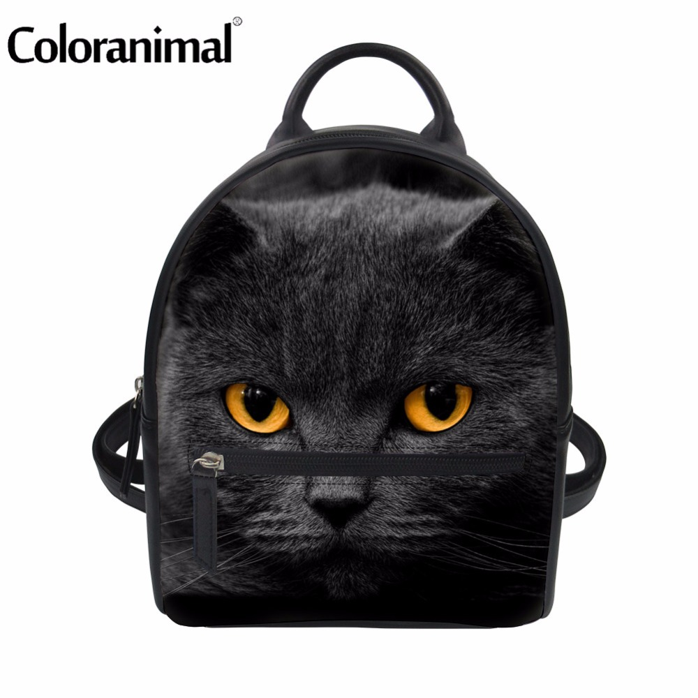 Coloranimal 2018 New Casual Schoo Backpack Women Shopping Travel Mini Rucksack Cute Anim ...