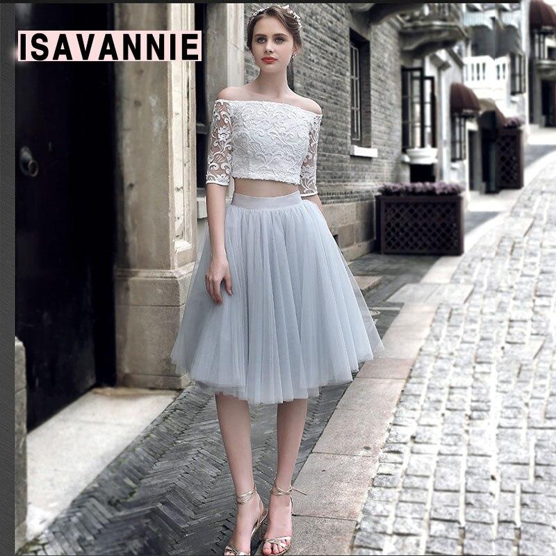 Pale Grey 5 layer Swiss Soft Tulle Skirt Hidden Zipper Band 5cm Width Adult Tutu Women
