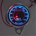 motorcycle speedometer led shining tachometer with odometer odo