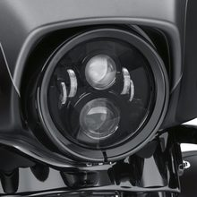 Gen2 60W 12-30V 7 INCH H4 Connector Motorcycle Headlight Round LED Headlights With H13 Adapter(China)