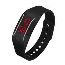 Mens Womens Silicone LED Watch Date Sports Bracelet Digital Wrist Watch sport watch dignity 9.11