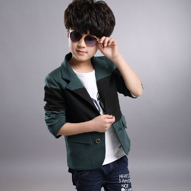 1ee1002e9497 kids boys clothes new fashion boy coats and jackets Korean version small  suit children outerwear tops jacket abrigos y chaquetas-in Jackets & Coats  from ...