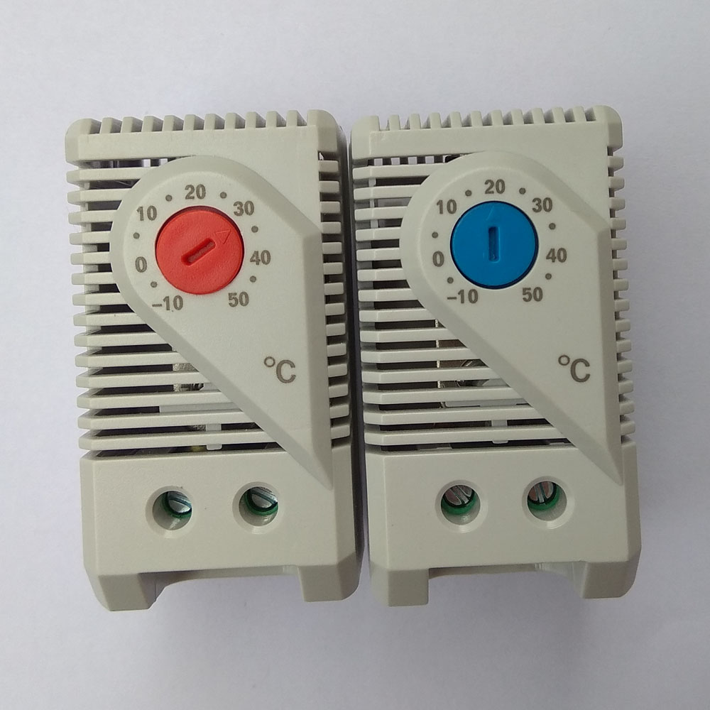 Switch Connect Mechanical Thermostat Cabinet Filter Fan Temperature Controller