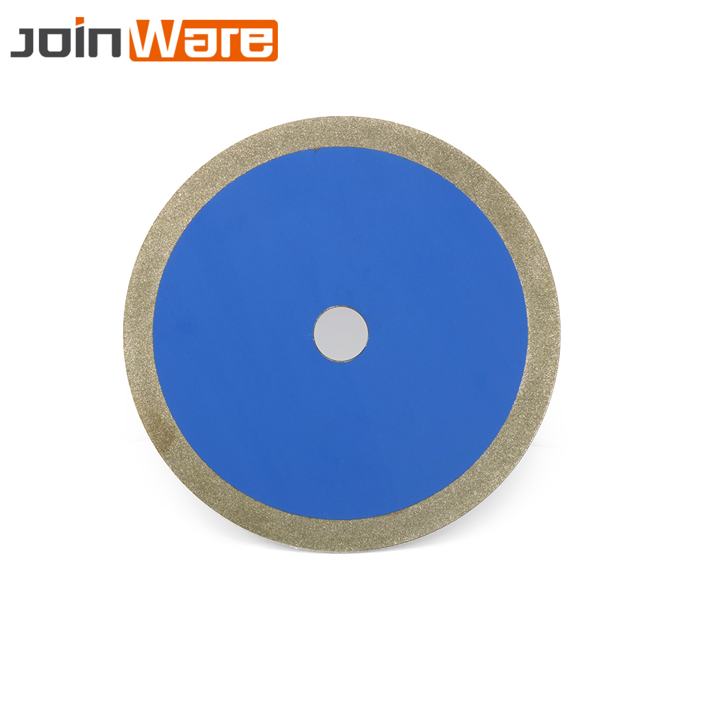 8'' 200*25*3mm 60# Diamond Saw Blade Cutting Disc Grinding Cutter Cut For Glass Steel Jade Pvc Pipe Cutting Tool 2 pcs super thin sintered diamond blade cutting disc for jade agate stone wet grinding with cooling water jgs031