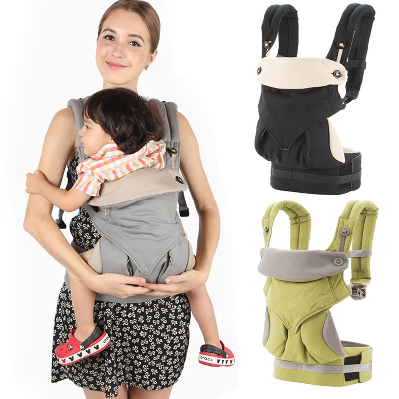 Four-position baby carrier 360 omni breathable backpack multifunction ergonomic baby sling