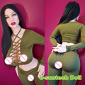 Newest 152cm lifelike sex dolls with big hip breast silicone adult dolls real love doll vagina real pussy sex products