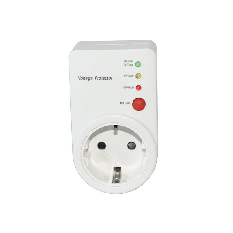 Automatic Voltage Switcher AVS 16A 220V Power Surge Protector Protector EU Plug Socket type Voltage Safe Refrigerator Protector