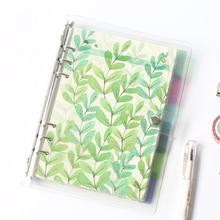 Креативный цветной блокнот формата А5, А6, А7, Матовая Обложка, спиральный дневник, планировщик, бумажный блокнот, категория, страницы, канцелярские принадлежности