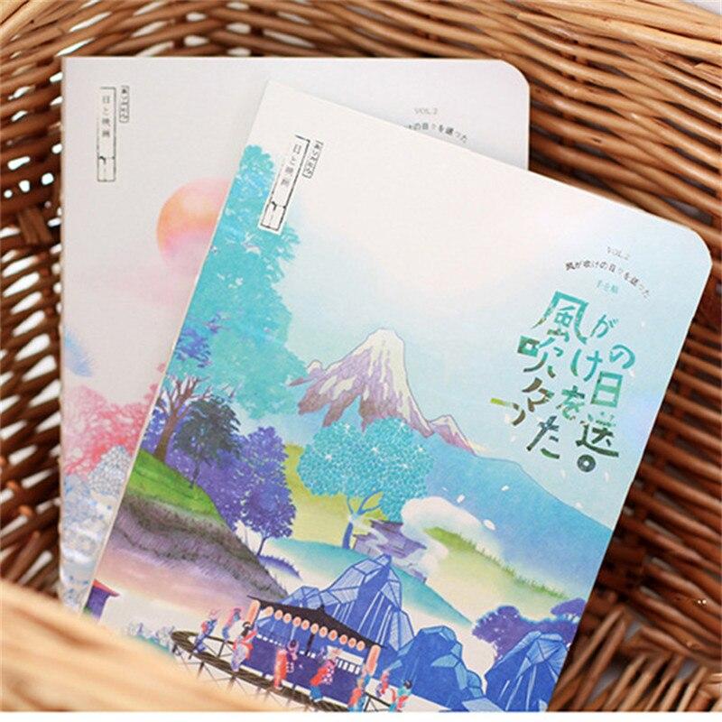 HOT Blank Sketchbook dibujo diario cuaderno papel 80 hojas Sketch libro graffiti pintura impreso Oficina escuela suministros regalo