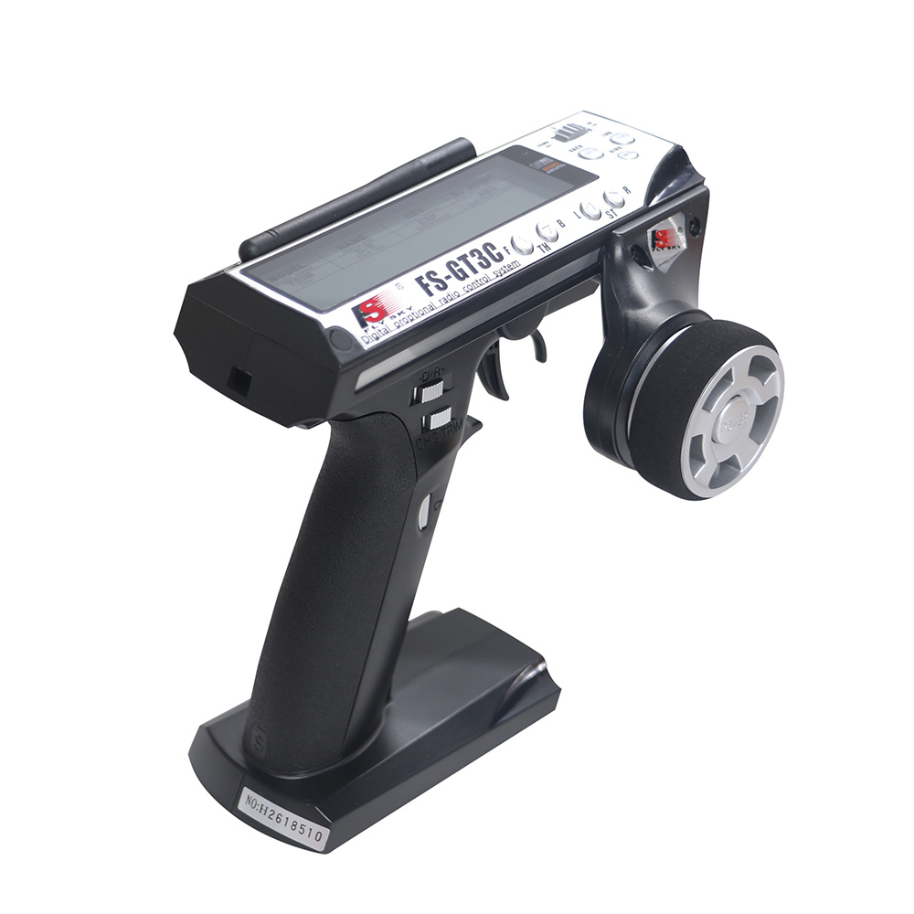Flysky FS GT3C FS-GT3C 2.4G 3CH Gun Controller Transmitter Receiver TX Battery USB Cable For RC Car Boat