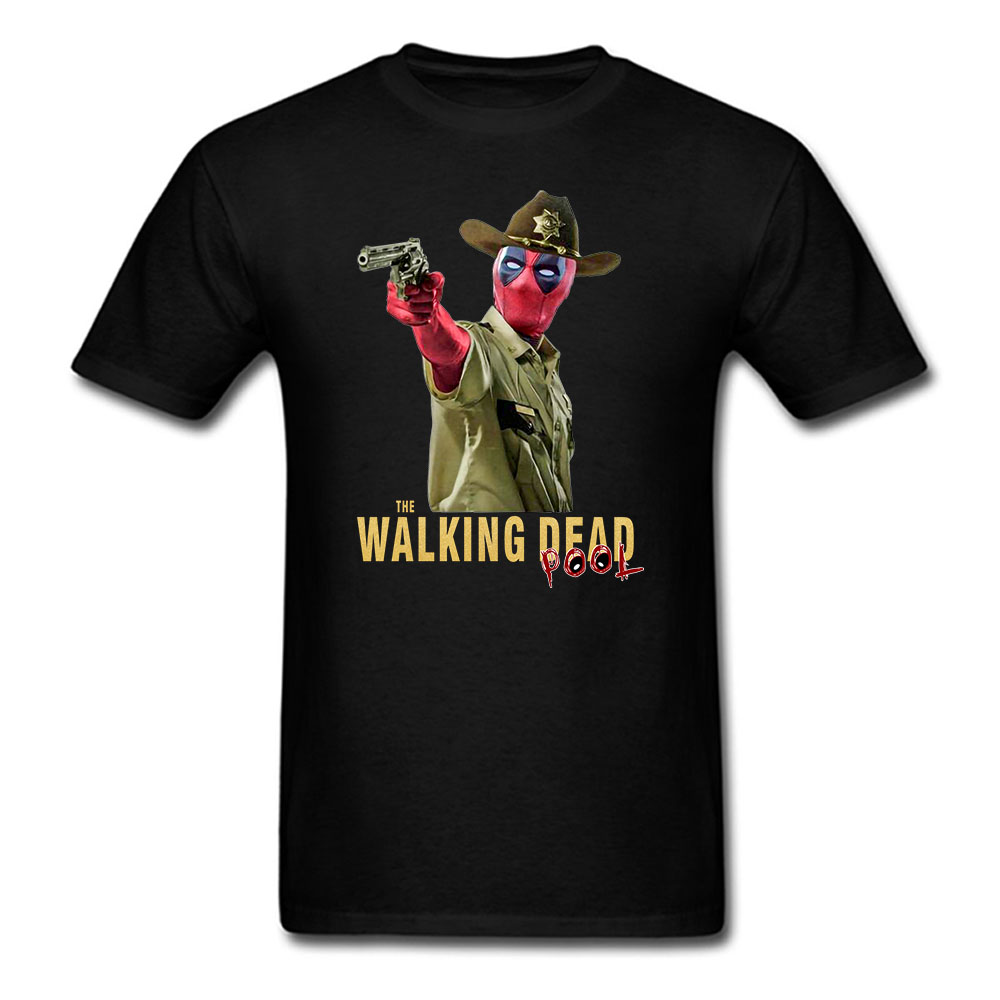 Funny Deadpool T Shirts The Walking Dad Pool Fathers Gift Tshirt Gift For Daddy