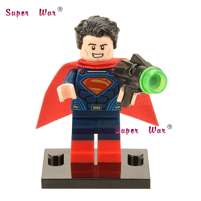 20pcs star wars superhero marvel Superman movie building blocks action figure bricks model educational diy baby toys