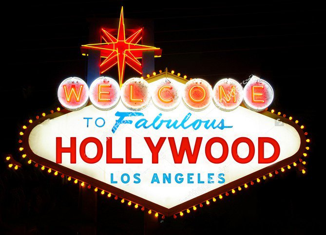 Hollywood Banner backdrop Vinyl cloth High quality Computer printed party wedding photography studio background hollywood english