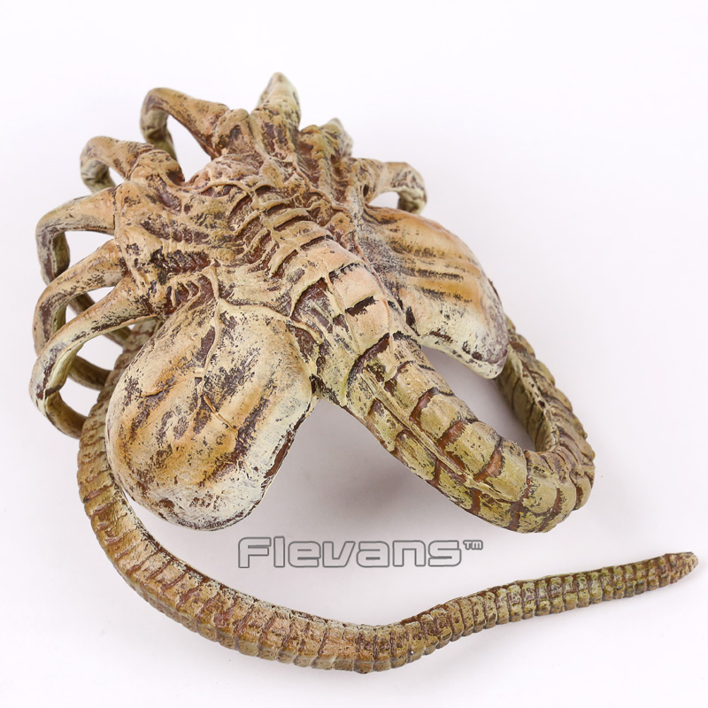 Alien Face Hugger Poseable Replica PVC Action Figure Collectible Model Toy 120cm replica mr116 8x17 5x112 d66 6 38 gmf