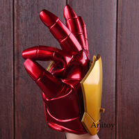 Marvel Avengers Age of Ultron Cosplay Iron Man Glove with LED Light Repulsor Ray Sound Launchable Movable Action Figure Toy