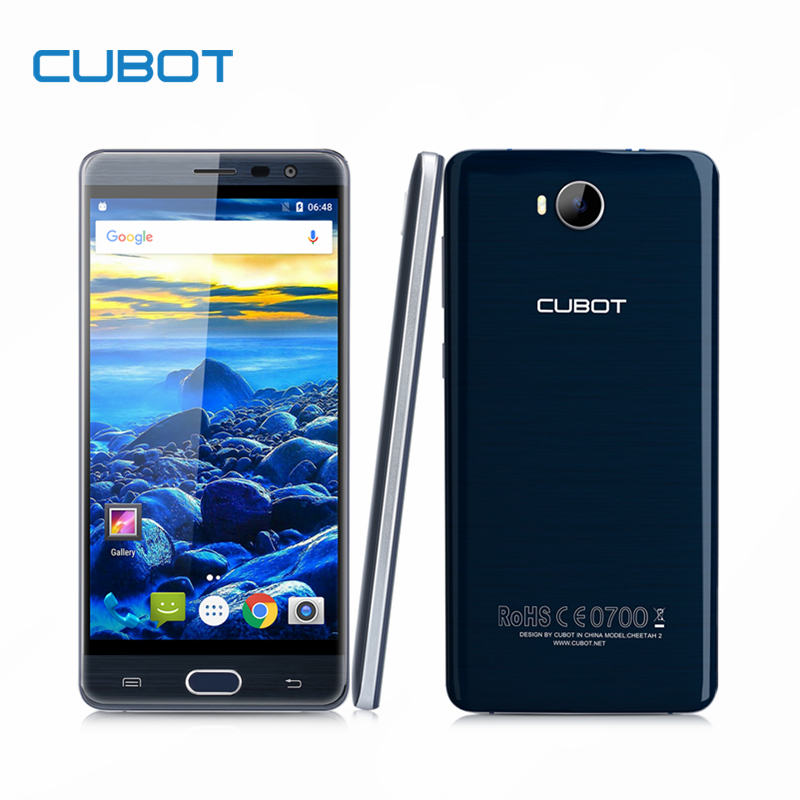 CUBOT Cheetah 2 5.5 Inch FHD MT6753 Octa Core Smartphone 3GBs