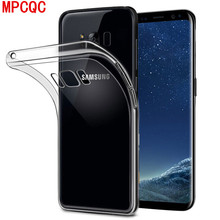 MPCQC Soft Silicon TPU Cases for Samsung Galaxy S10 A6 Plus 2018 A8 S8 S9 Plus J3 J4 J6 J7 J8 A5 A7 Phone Back Scrub Cover case