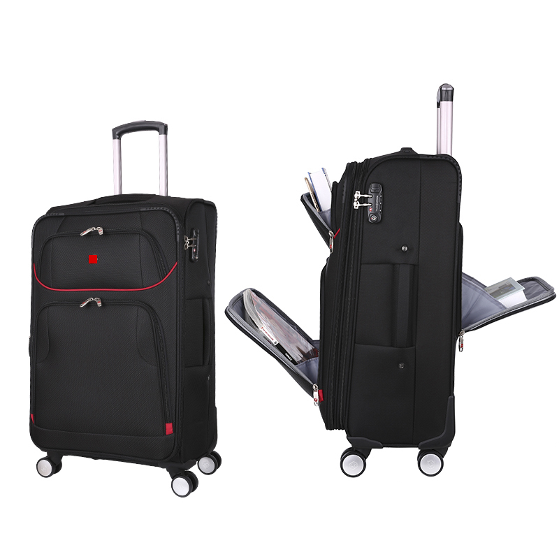 Business 20 24 inch High Quality Multi function Travel Luggage Men Hand Trolley Boarding Suitcase Large
