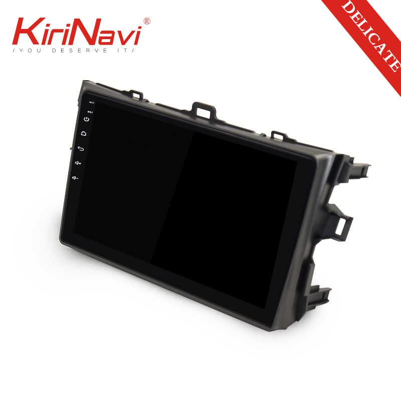 "KiriNavi 2 din 9"" Touch Screen Android Car Radio For Toyota Corolla 2006-2011 Multimedia GPS Navigation Player audio WIFI MP3"