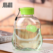 JOUDOO 400ml Creative New Summer Water Bottle Plastic Adults Of Korea Hiking Tour Portable Bottles 35