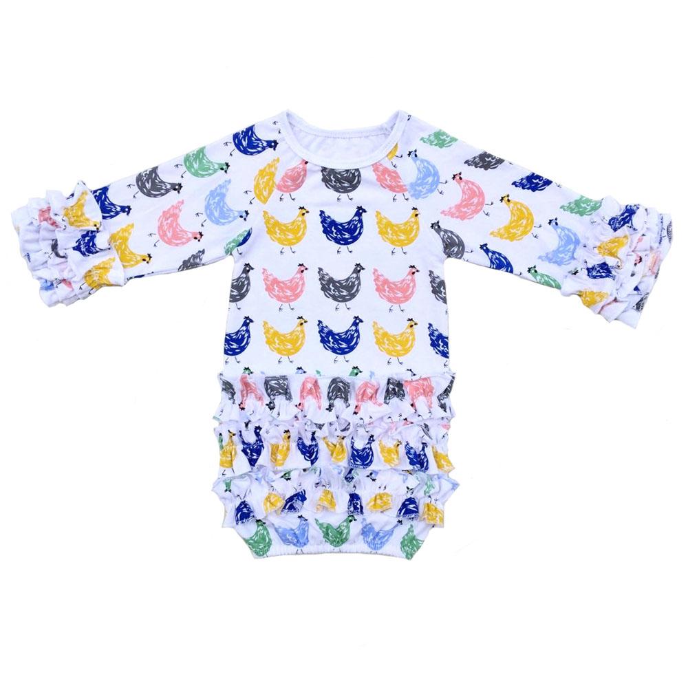 baby girl pajamas ZD-BRLSR009 (2)