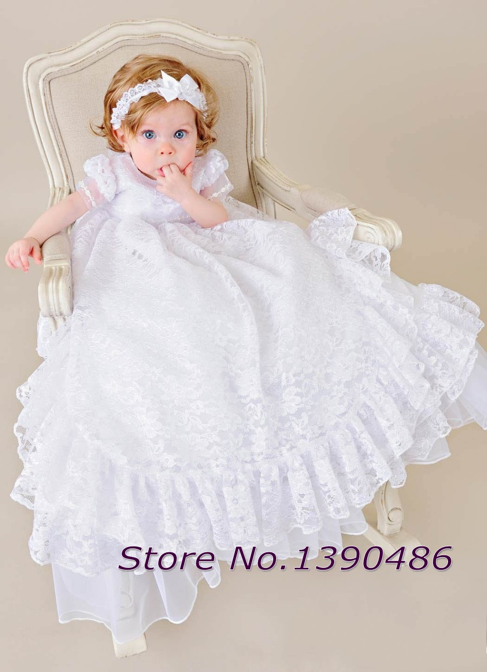 Baptism Gown Toddler Boy | RLDM