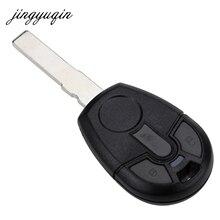 Jingyuqin 15 шт./лот 2 кнопки дистанционного брелока чехол для Fiat для Бразилии позитронно режиссерский лезвие замены автомобиля В виде ракушки