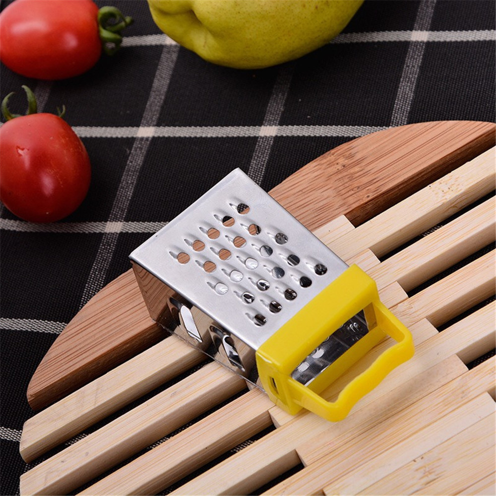 Four-Sided Grater Vegetable Stainless-Steel Kitchen Mini Multifunctional Planer1.01 Craft