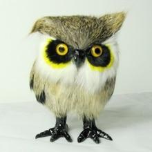 free shipping lifelike handmade craft owl for window decoration and birthday gift
