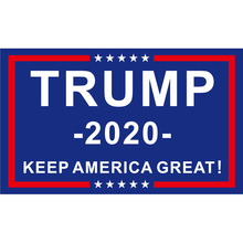 90*150cm 60*90cm 40*60cm 15*21cm Polyester Donald Trump Presidential Campaign 2020 Flag 3X5FT For Home Office Party Bar Banner