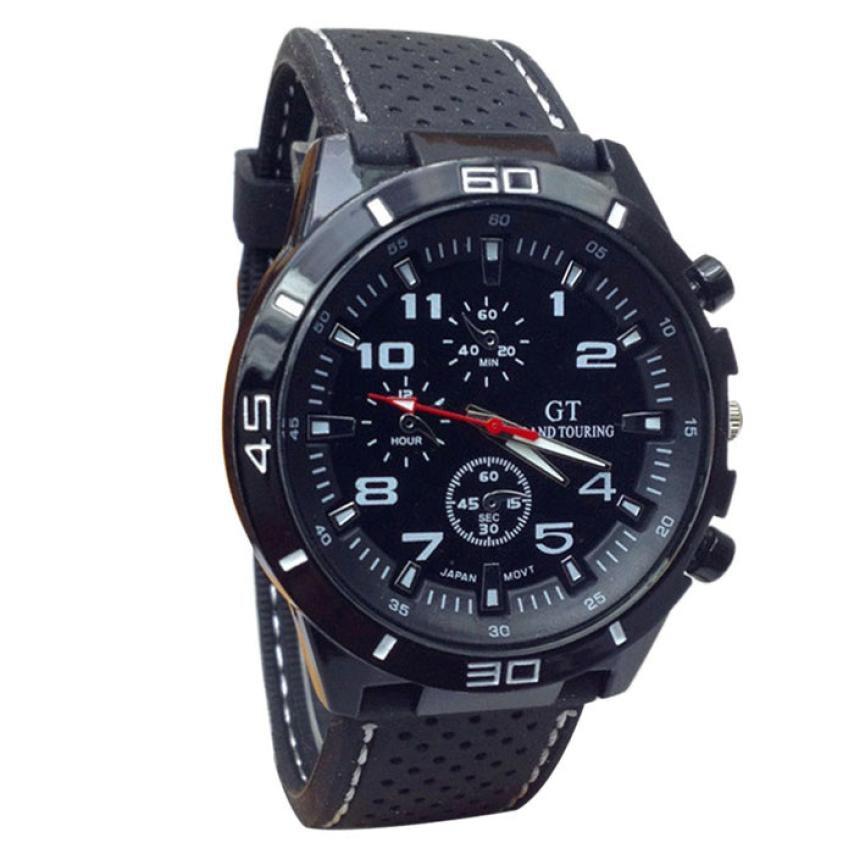 2018 Hot Sale Men Sport Watch Fashion Silicone Military Waterproof Watches Sport Analog Quartz Wristwatch Hours Clock relogio ma jw sport ma 08
