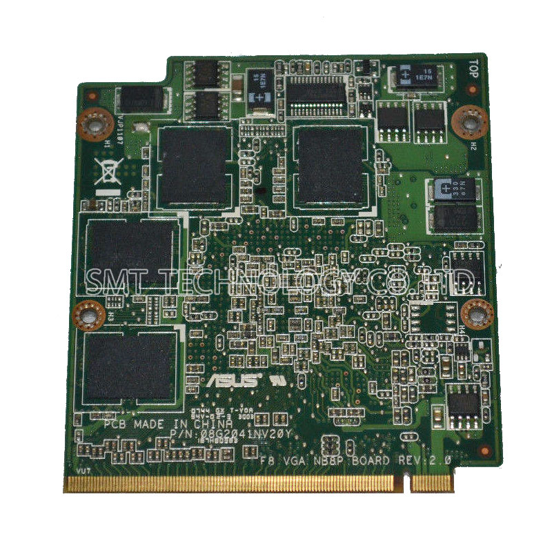 M50 M50SV X550SV f8 video card graphic card Geforce 9500M GS DDR2 512MB NEDVG2000-B01 tested ok