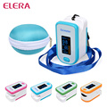 ELERA OLED Finger Pulse Oximeter With Case Blood Oxygen Saturation SPO2 PR PI Oximetro de Dedo Digital Pulsioximetro de Pulso
