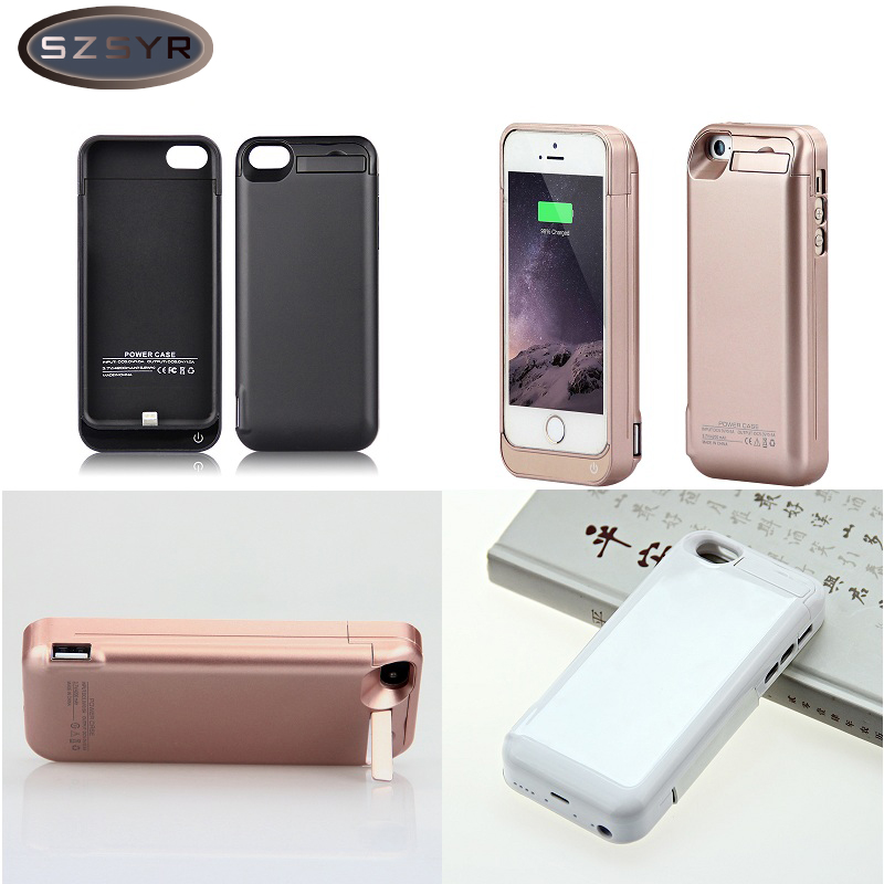Charger Battery 4200mah External Pack Battery Power Bank Case Cover For IPhone 5/5s 5c SE Charger Battery Portable Freeshipping