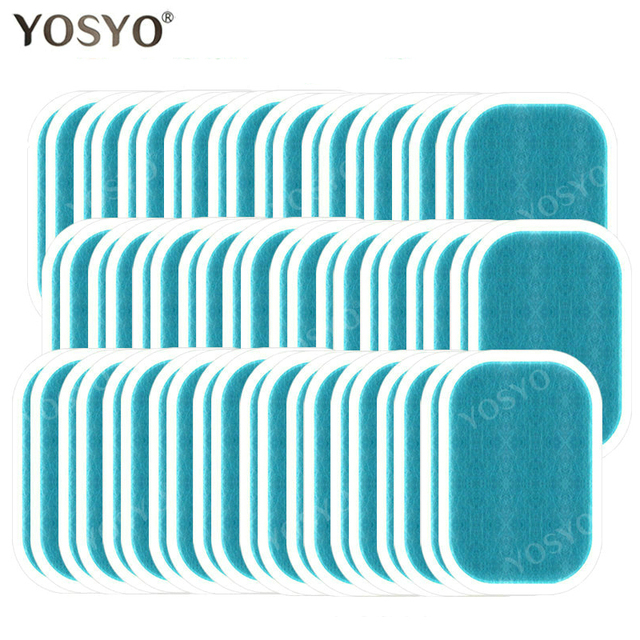 5/10/15Pairs Dedicated Gel Pads for EMS Trainer Weight Loss Abdominal Muscle Stimulator Exerciser Replacement Massage Gel Shebox