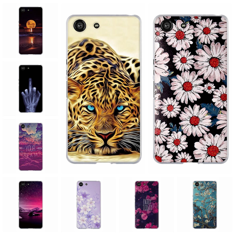 For Sony Xperia Ace Phone Case Ultra Thin Soft Silicone TPU Cover Cartoon Patterned Capa
