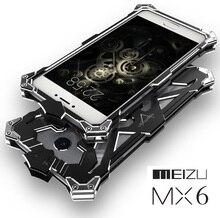 Для Meizu MX6 чехол оригинальный Дизайн Панцири пыль из металла Алюминий Тор Ironman защитить телефон Shell чехол для Meizu MX6