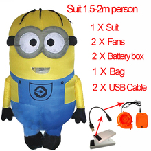 Adult Minion Costume Inflatable Minion Costume Baymax Cosplay Pikachu Minion Mascot Halloween Minion Costume For Women